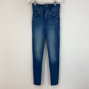 Express Ankle Legging Super High Rise Jeans
